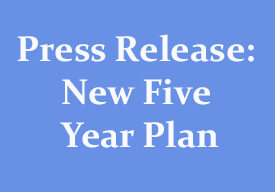 Press Release: New Five State Plan