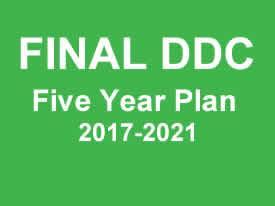 FINAL DDC Five Year Plan 2017-2021