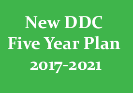 New DDC Five Year Plan 2017 – 2021