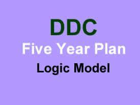 DDC Five Year Plan Logic Model
